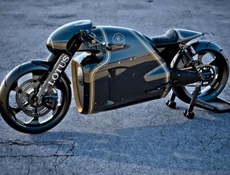 Lotus C-01 motorcycle