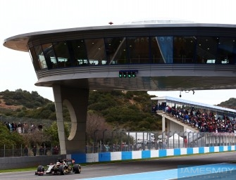Jerez F1 Test – Day 3 3rd February 2015. Jerez, Spain