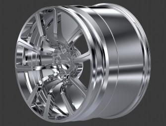 MANSORY 4C+ high-performance wheel for the Bugatti Veyron