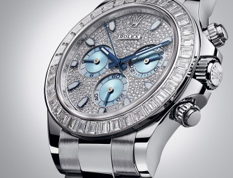 A jewelled Oyster Perpetual Cosmograph Daytona by ROLEX
