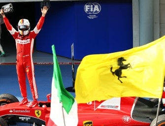 Race check-up: the prancing horse gallops to victory