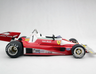 1976 McLaren M23D at 1:8 scale – as featured in RUSH