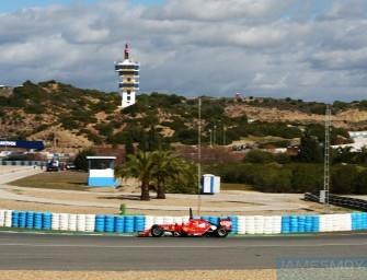 Jerez F1 Test – Day One 28th January 2014. Jerez, Spain