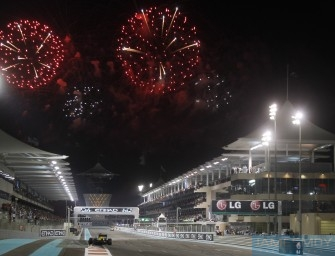 Abu Dhabi Grand Prix – Sunday 3rd November 2013. Yas Circuit, Abu Dhabi