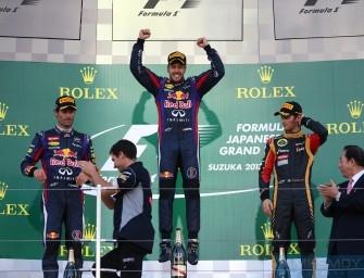 Japanese Grand Prix – Sunday 13th October 2013. Suzuka, Japan
