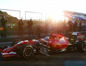 Jerez F1 Test – Day Three 30th January 2014. Jerez, Spain
