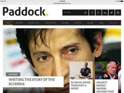 Paddock homepage