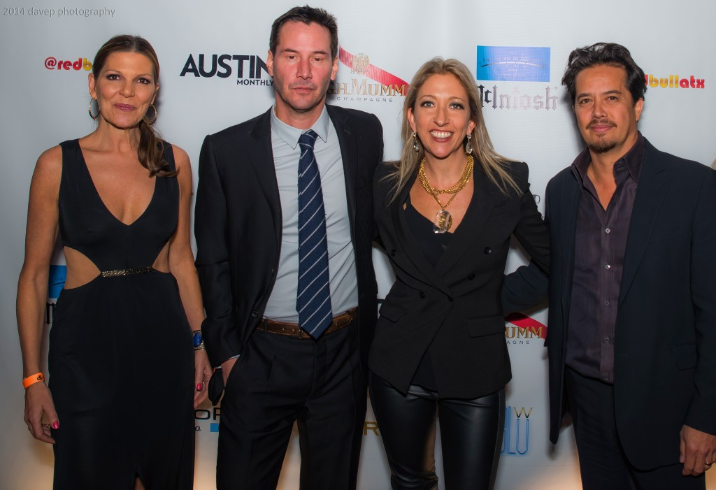 Jane Reece, Keanu Reeves, Ginger Leigh, Gard Hollinger