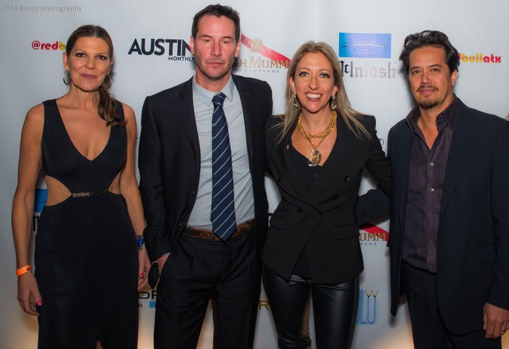 Jane Reece, Keanu Reeves, Ginger Leigh, Gard Hollinger