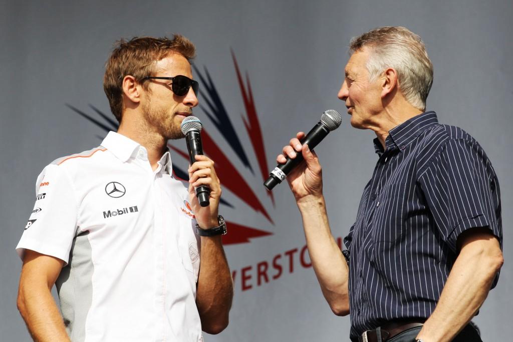 Jenson Button and Tony Jardine