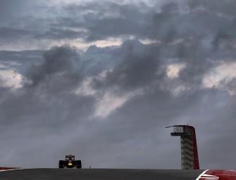 Rain vs racing in Austin GP