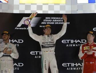 Abu Dhabi Grand Prix – Sunday 29th November 2015. Yas Marina Circuit, Abu Dhabi