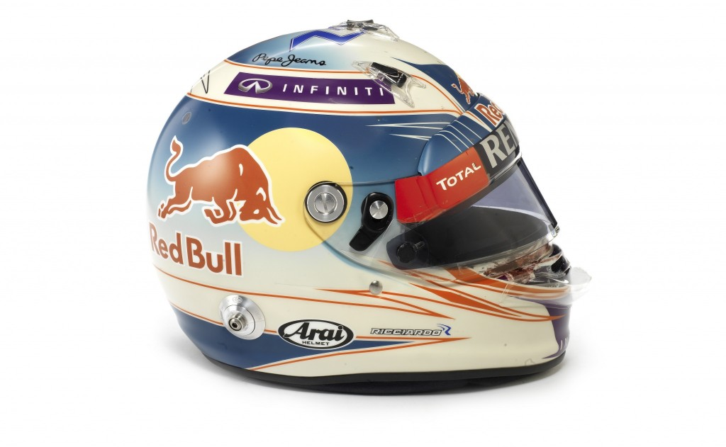Daniel Ricciardo's Austrian helmet