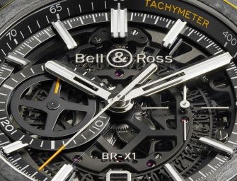 BR‑X1 RS16, the sporty chronograph by Bell & Ross