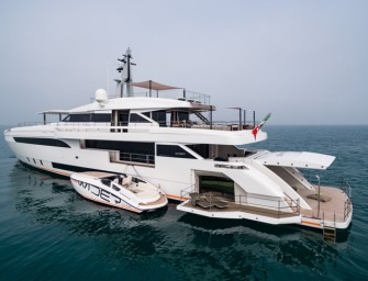 WIDER 150 – PROJECT GENESI Sea trials completed and Beach Club unveiled