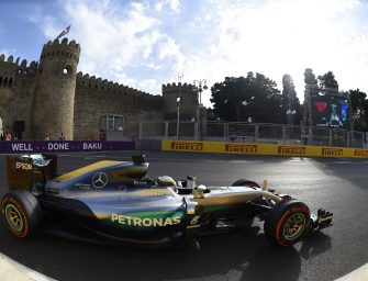 European Grand Prix – Sunday 19th June 2016. Baku, Azerbaijan
