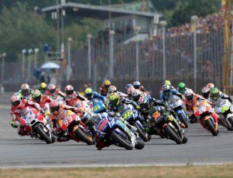 The MotoGP camp