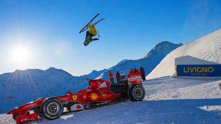 Ferrari On Ice