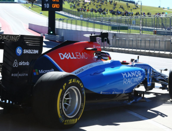 Startup to Formula 1 partner in 130 days