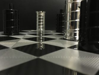 Spectacular F1 chess set by Racing Gold