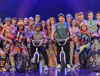 PUMA and Cirque de Soleil's VOLTA