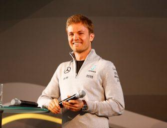 Nico Rosberg and his Silver Arrow