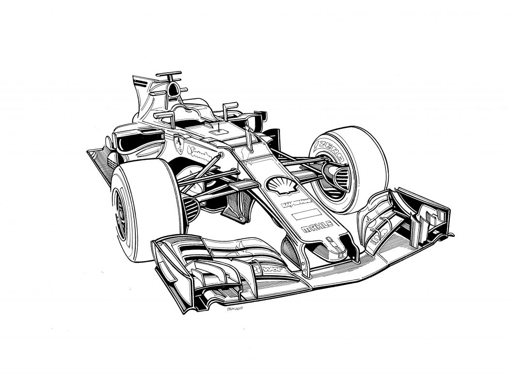 Technical Illustrations By Paolo D Alessio Paddock Magazine