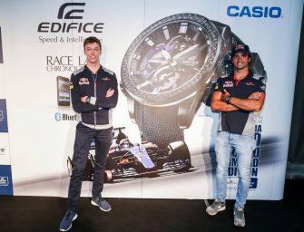 Toro Rosso reignite Casio partnership
