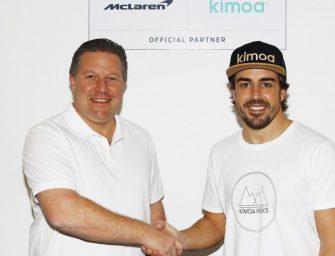 Kimoa becomes official surfwear partner of McLaren