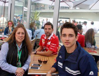 "Charles Leclerc: ""Formula 1 is a sport I admire"""