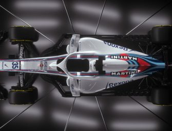 First look at the Williams Martini Racing FW41 2018