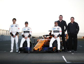 McLaren's new 2018 challenger: the MCL33