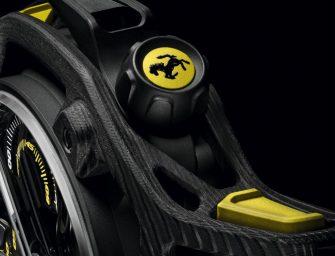 Techframe Ferrari Tourbillon Chronograph Carbon