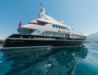 Superyachts in pole position