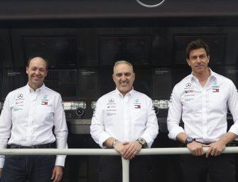Mercedes-AMG Petronas Motorsport partners with Hewlett Packard