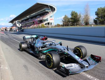 Formula 1 Barcelona Test 2020