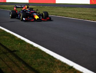 Christian Horner, Alex Albon and Max Verstappen pre-Austrian GP race interviews