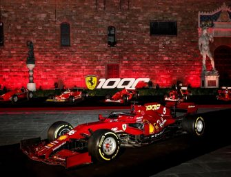 Scuderia Ferrari celebrates its 1000th Grand Prix in Florence