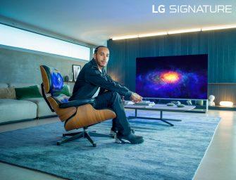 Lewis Hamilton named LG Signature brand ambassador