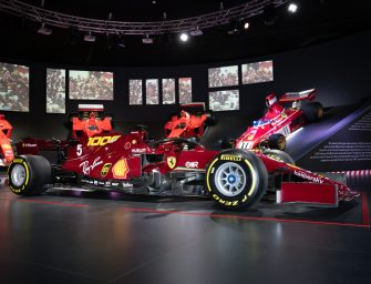 Ferrari celebrates one thousand Grand Prix with an auction