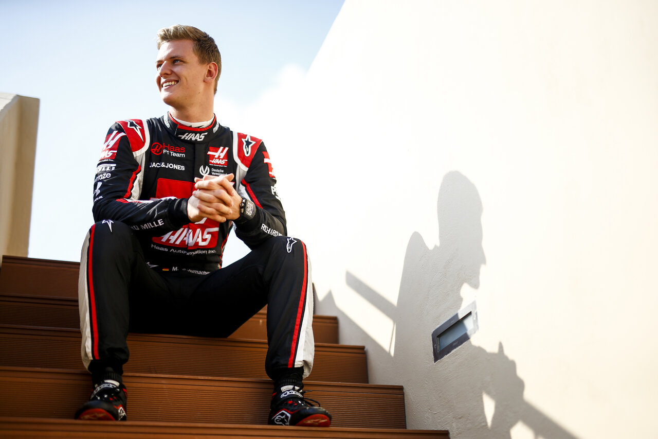 Game plan: Mick Schumacher Photoshoot, Abu Dhabi GP
