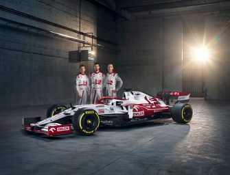 C41 Alfa Romeo Racing ORLEN unveiled in Warsaw