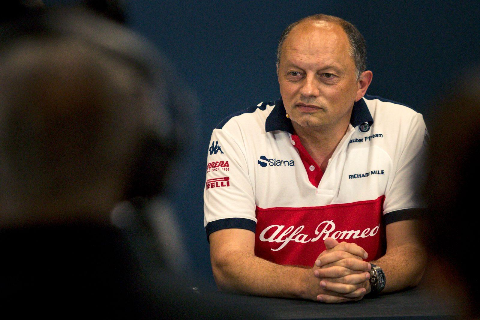 Frederic Vasseur (FRA) Alfa Romeo Sauber F1 Team
