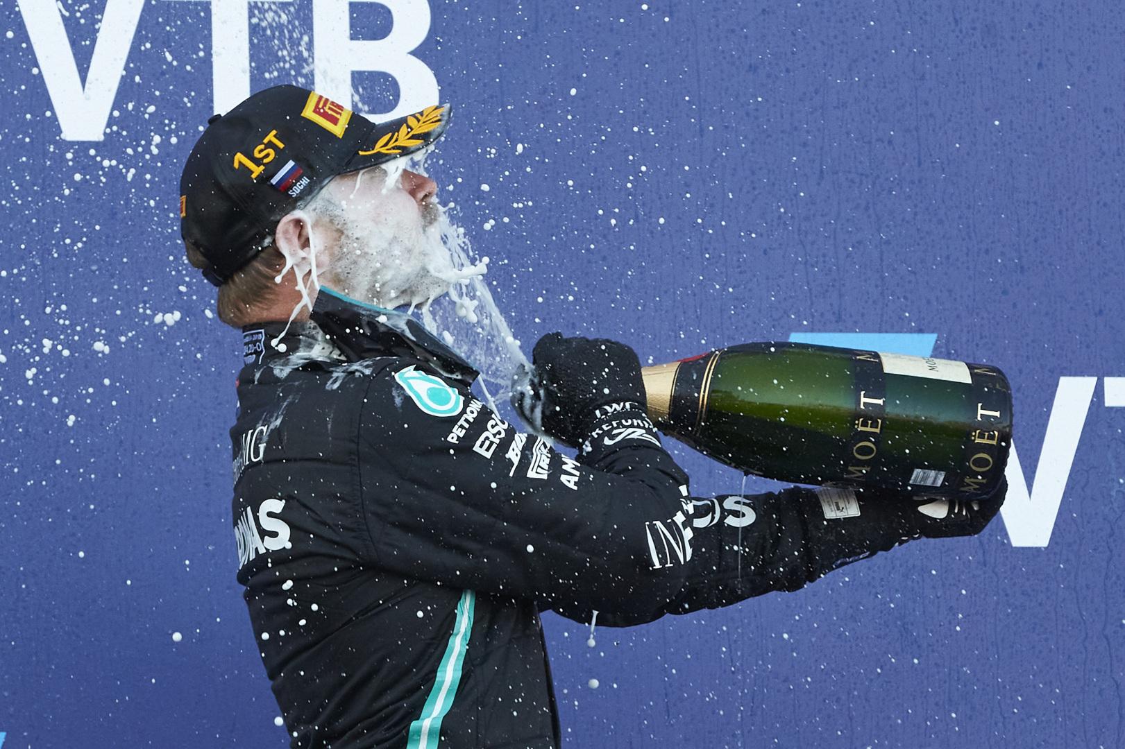 Valtteri Bottas 2020 Russian Grand Prix, Sunday - Steve Etherington