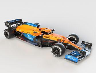 McLaren introduces MCL35M at Woking HQ