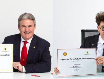 Shell renews a multi-year partnership with Scuderia Ferrari