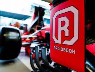 Radiobook renew their partnership with Scuderia Ferrari