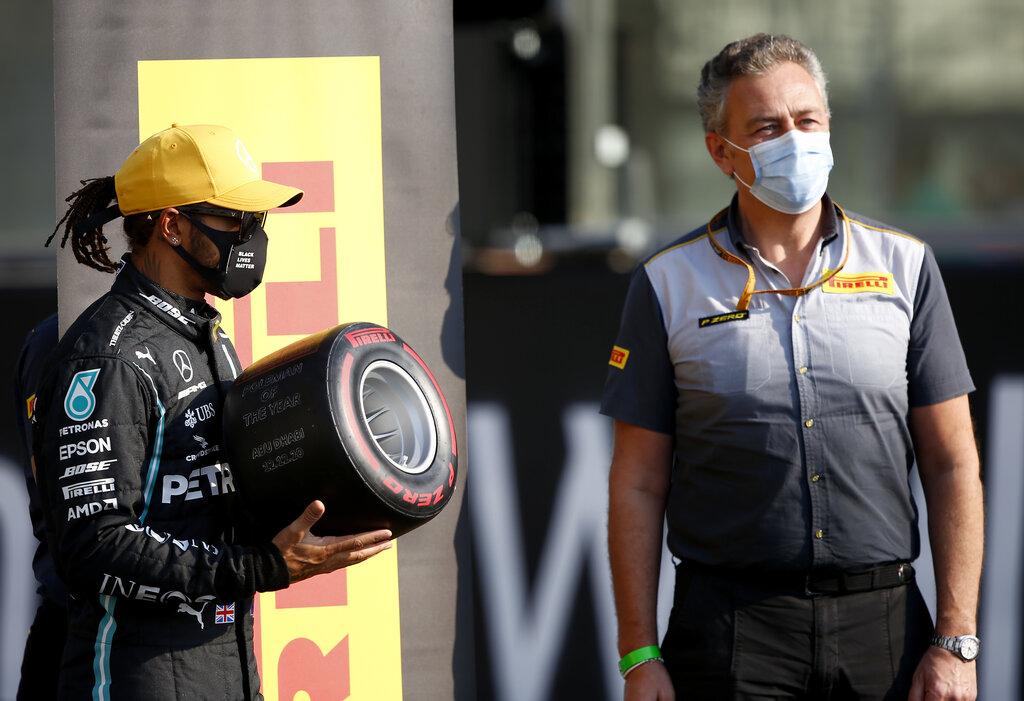 Pirelli 2021 tyre choice - Mario Isola