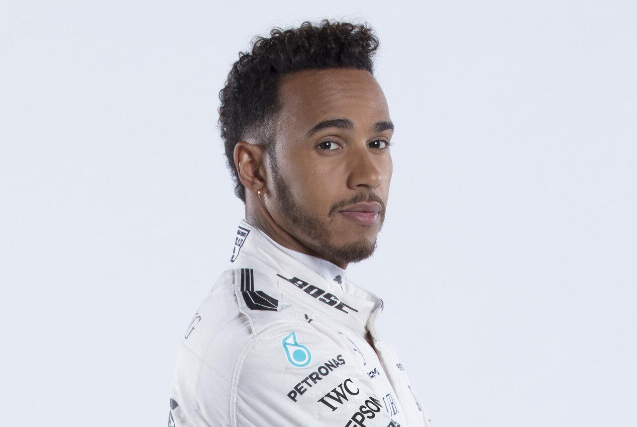 Lewis Hamilton Driver Studio Shots