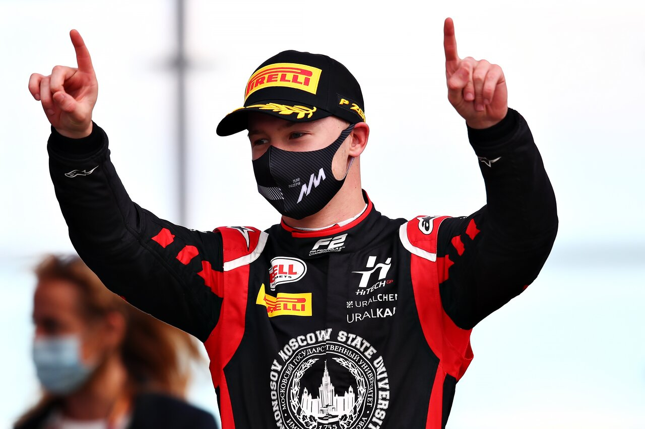 Nikita Mazepin signs for Haas F1 Team